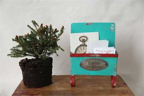Letters to Santa Tin Holder