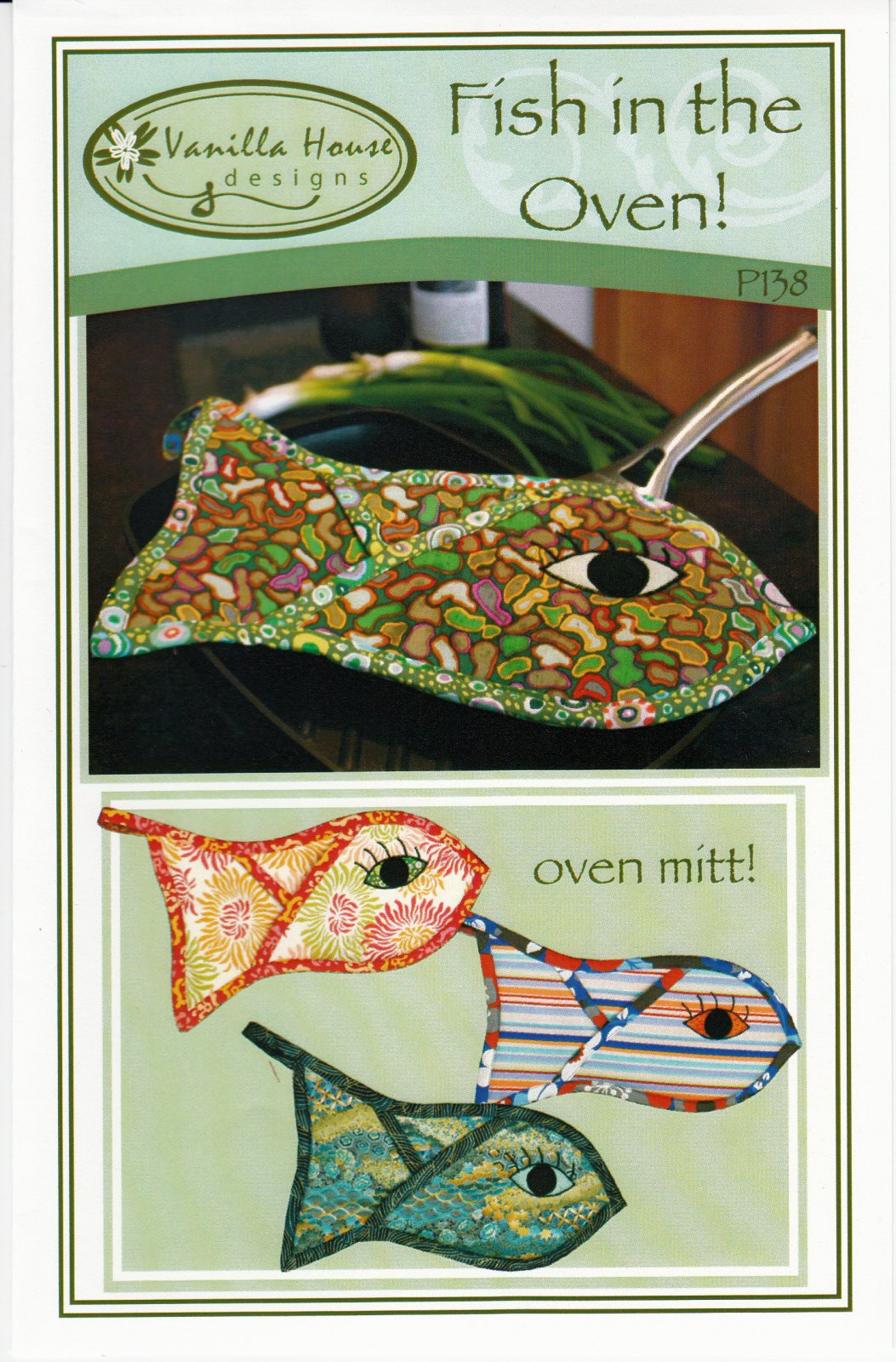 Fish in the oven mitt pattern for Fish in oven