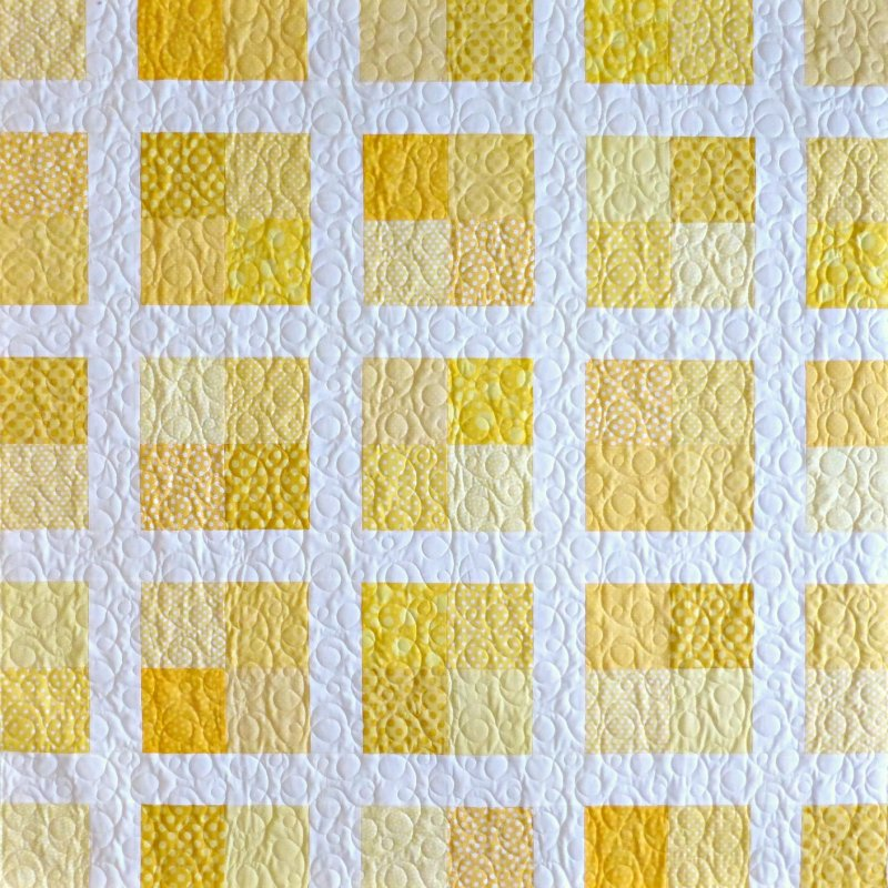 Lemon Drop Quilt Kit