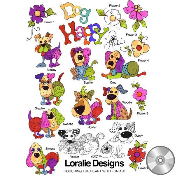 Loralie Machine Embroidery Designs