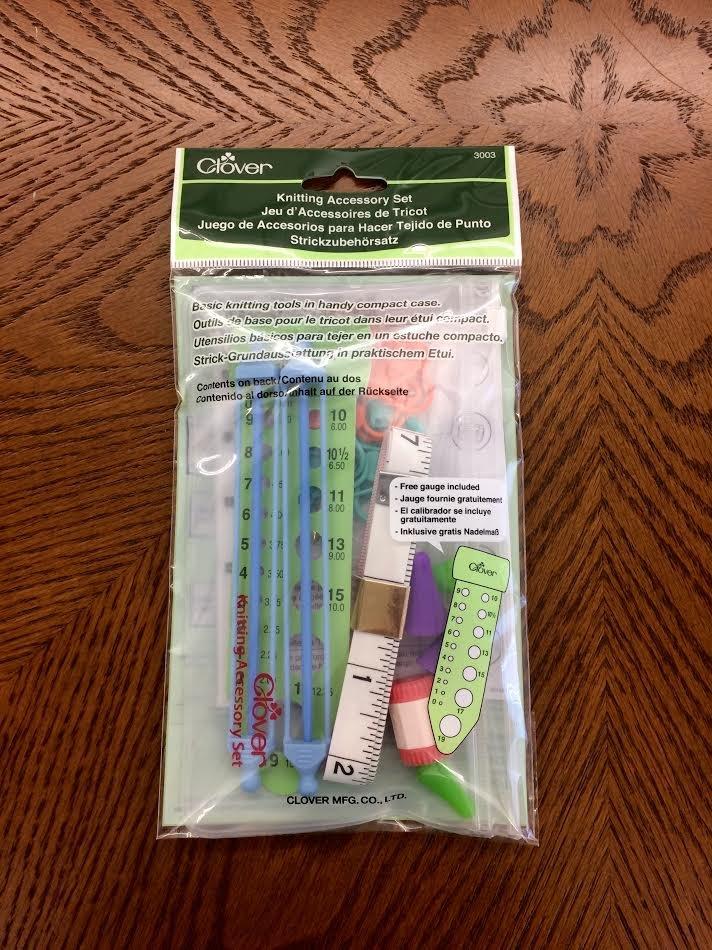 Clover Knitting Accessory Set 3003