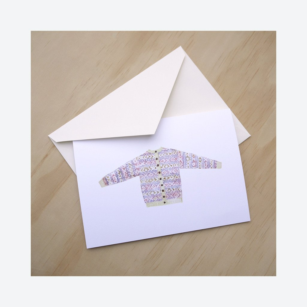 Rowan Morrison XOXO Sweater Greeting Card