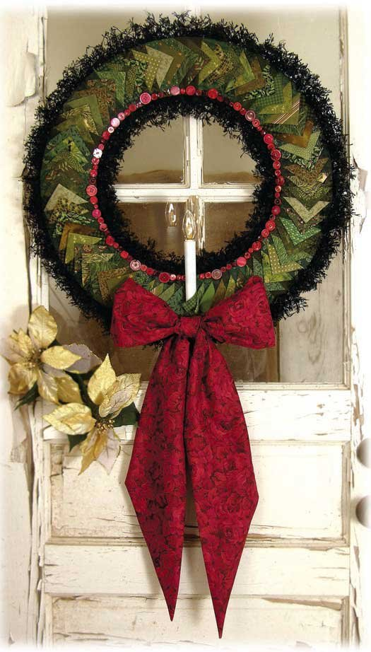 Pinwheel Wreath pattern and accessory set