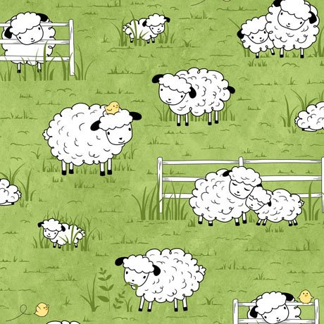 Quilting Treasures; Sheeps and Peeps fabrics