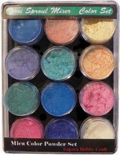 14711 Shimmer Mica Color Set