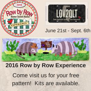 Row by Row Info