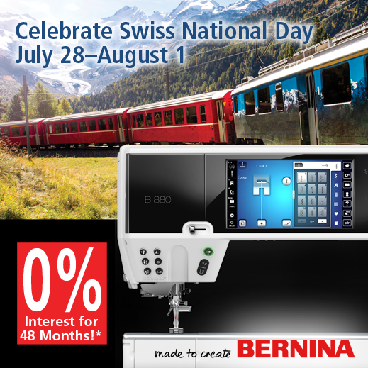 BERNINA Swiss Day Sale