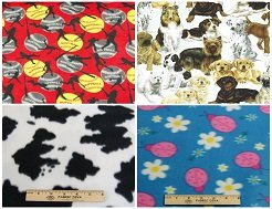 discount fleece fabric by the yard