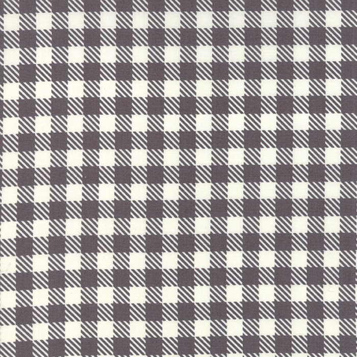Dark grey check