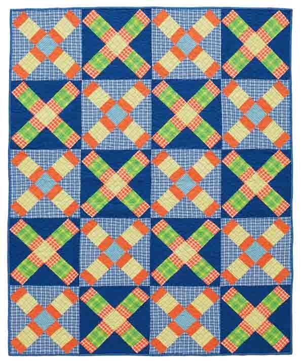Checks Mix quilt kit