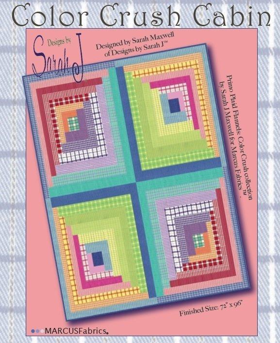 Color Crush Cabin quilt kit