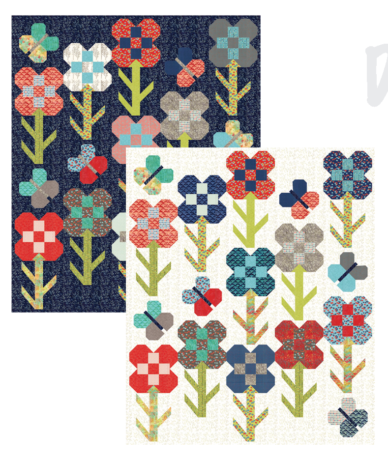 Dandy Flower Quilt Along kit