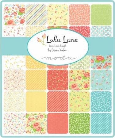 A half yard bundle of Lulu Lane