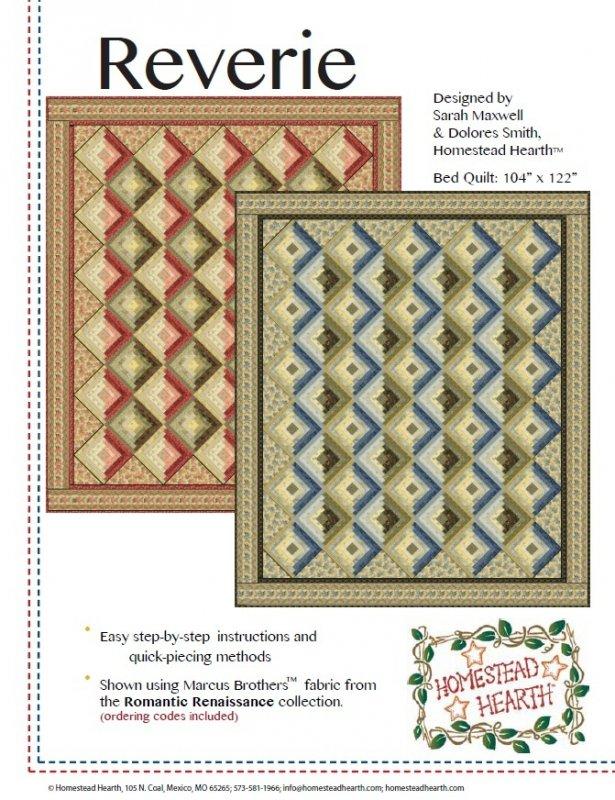 Reverie quilt pattern