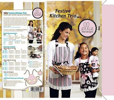 Ellie Mae Designs Festive Kitchen Trio