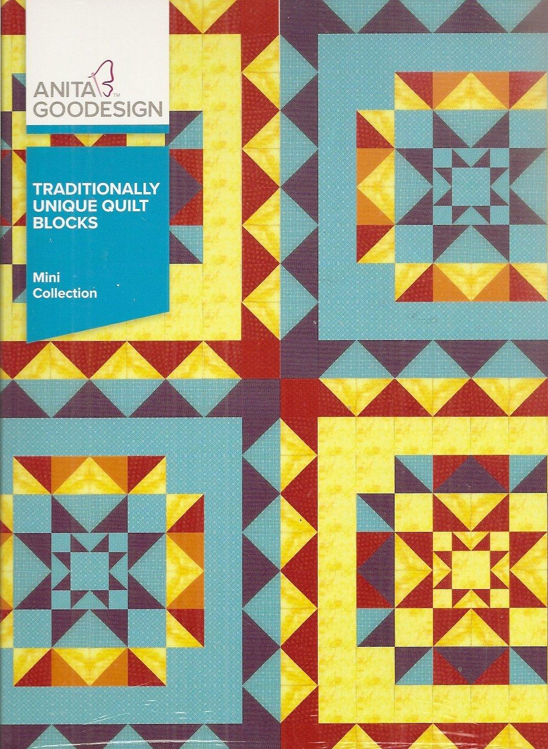 Anita Goodesign Mini Collection Traditionally Unique Quilt Blocks ... : unique quilt blocks - Adamdwight.com