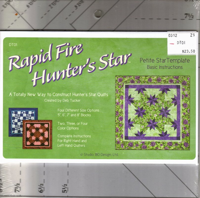 Rapid Fire Hunter S Star Petite Star Template