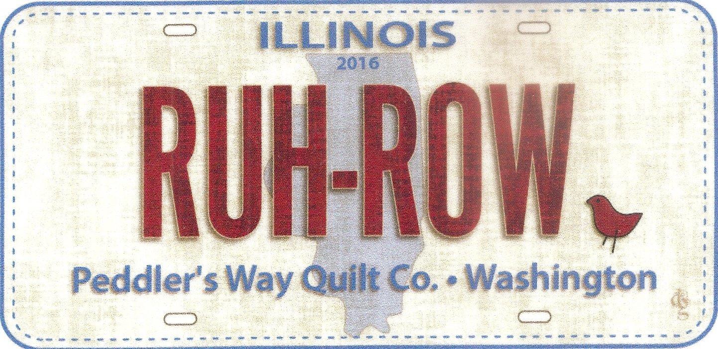 2016 Ruh Row Fabric Plate