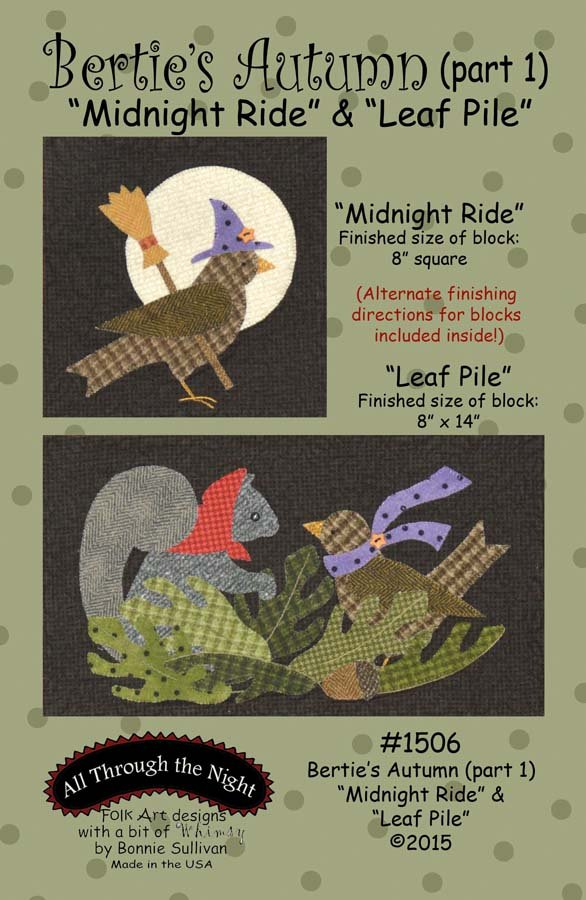 1506 Bertie's Autumn Midnight Ride & Leaf Pile (1)