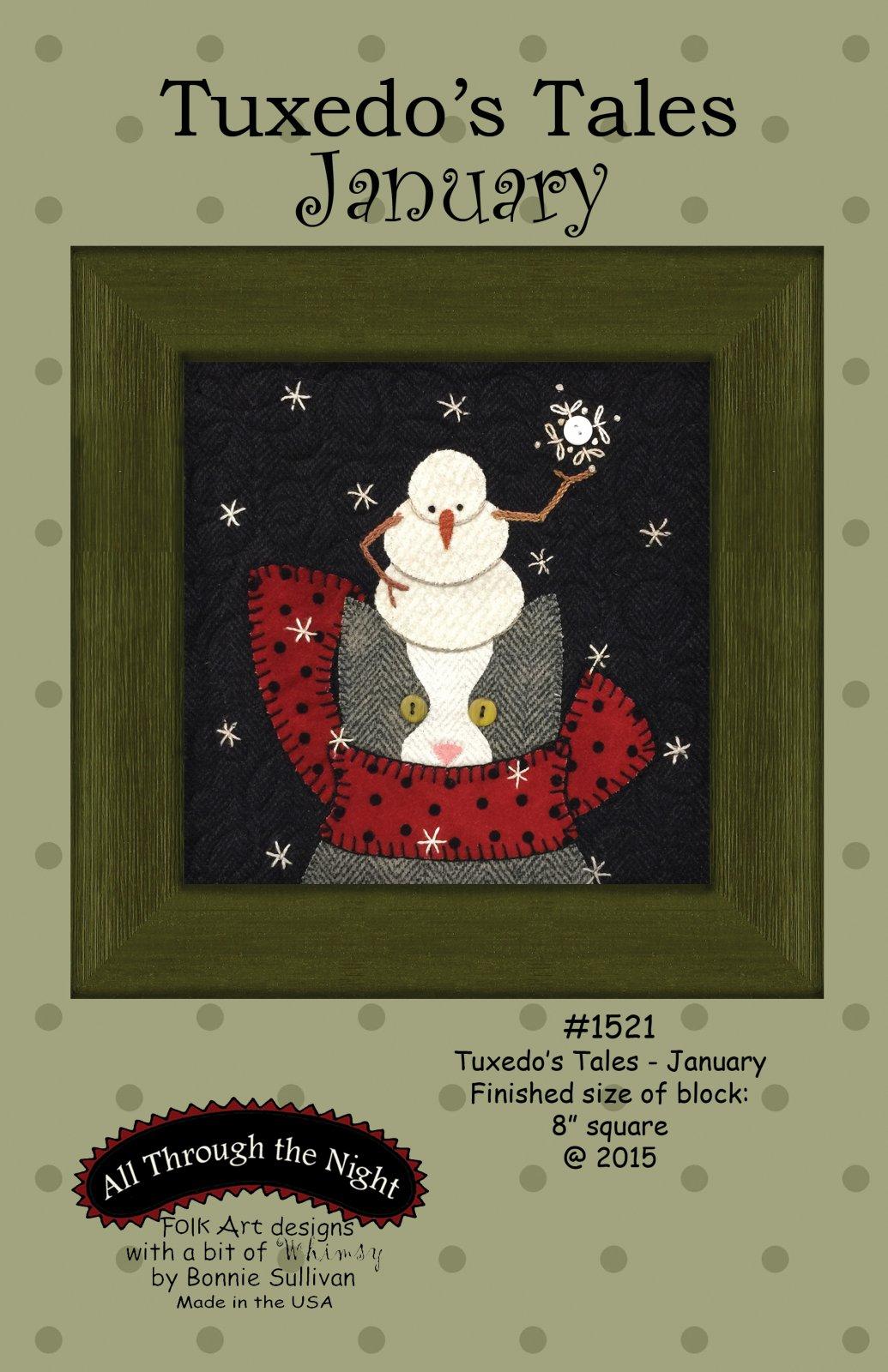 1521 Tuxedo's Tales  January