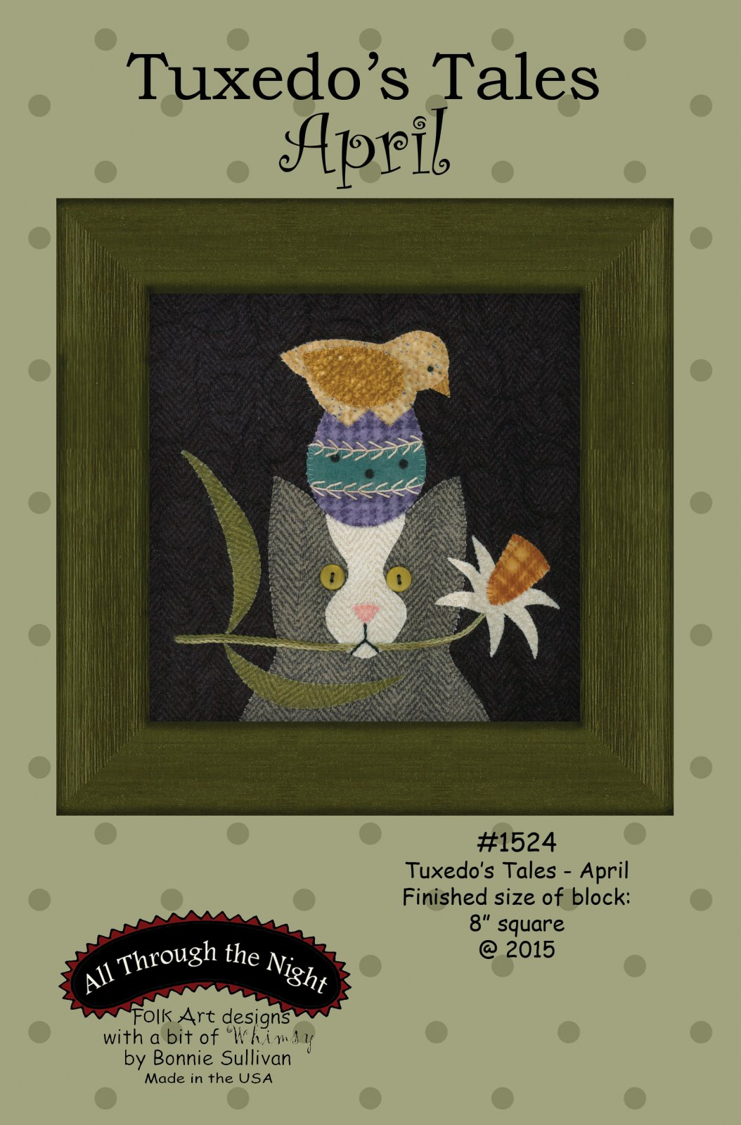 1524 Tuxedo's Tales April