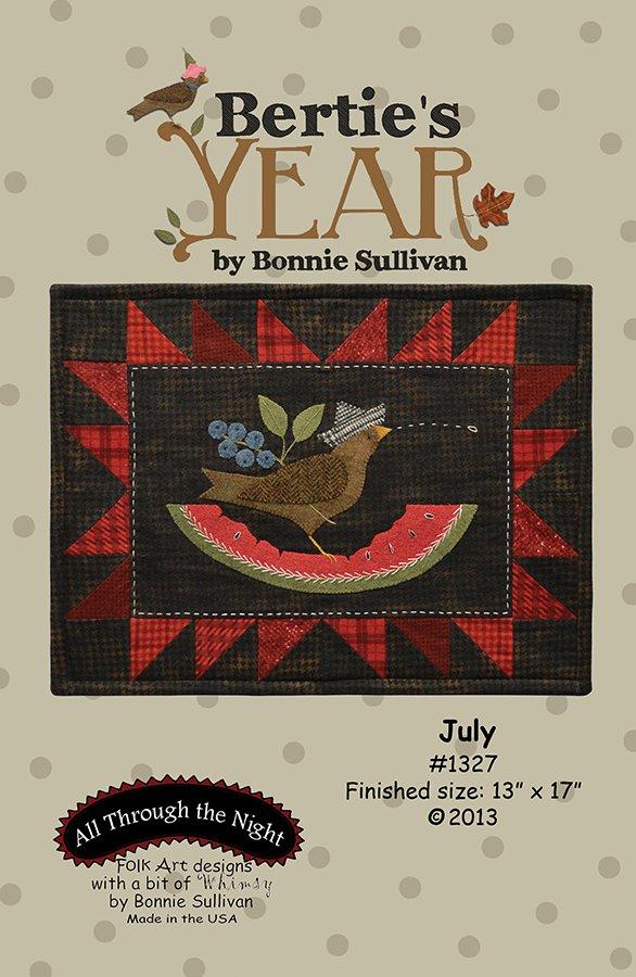 1327 Bertie's Year July