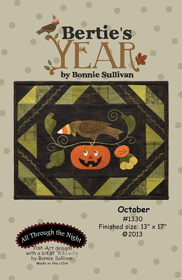 1330 Bertie's Year October