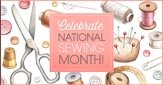 National Sewing Month and BROTHER Sale