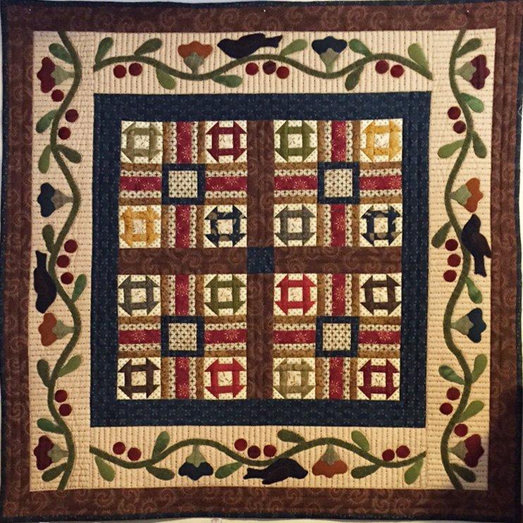 Village square quilt kit - Quilt rits ...