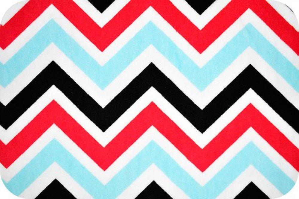 You Pick Snuggle Blanket Top Black Amp White Chevron Print