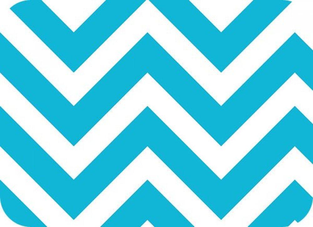 You Pick Snuggle Blanket Top Blue Amp White Chevron Print