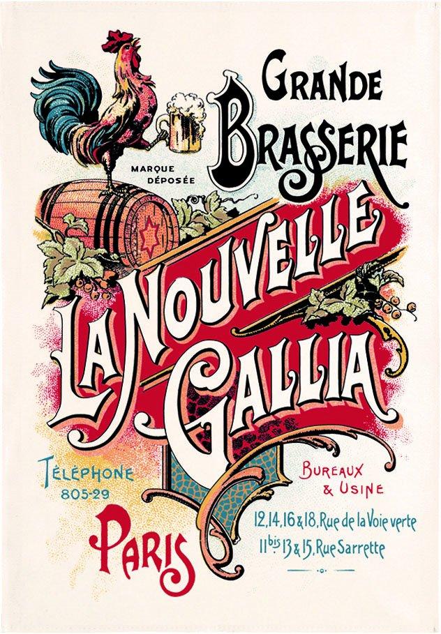 Grande Brasserie Beer Tea towel
