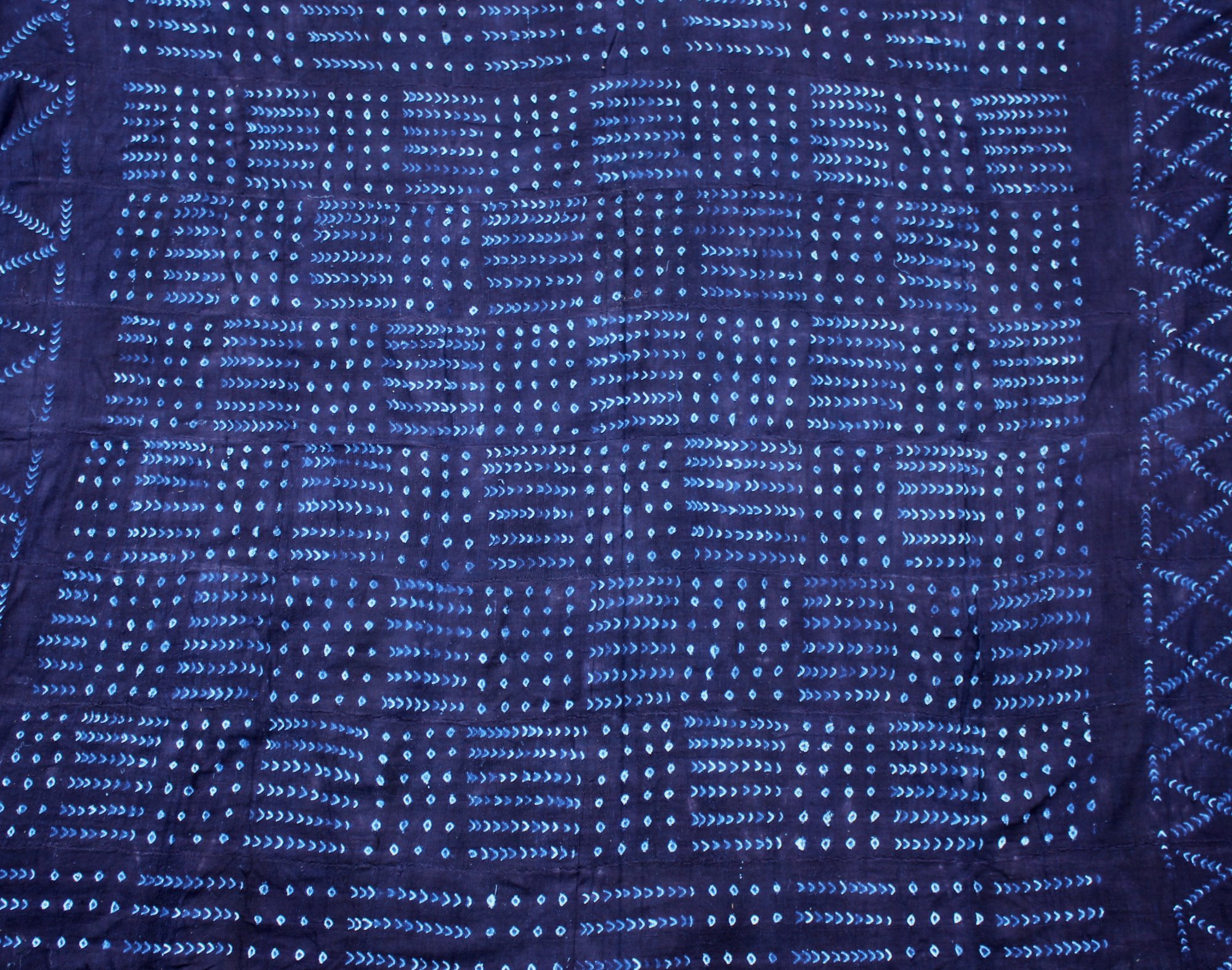 Dogon Indigo Hand-dyed cloth #20