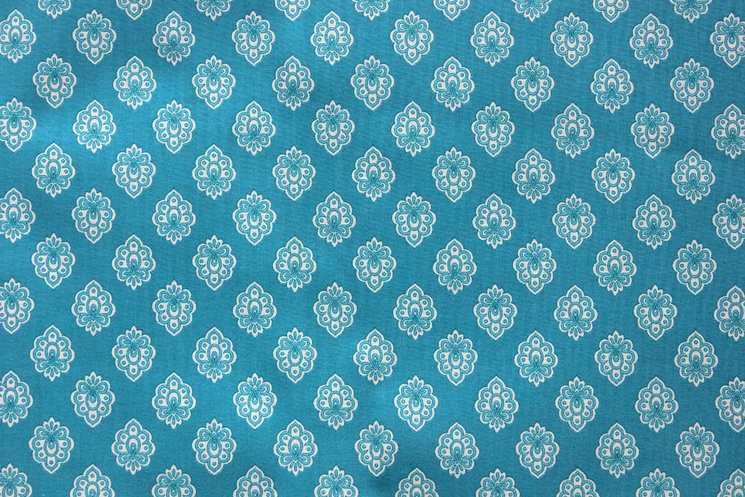Printed cotton fabric provence and other for Printed cotton fabric