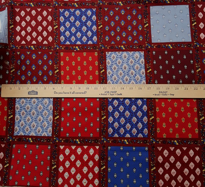Shirt-Weight Cotton French Fabric (red) #609