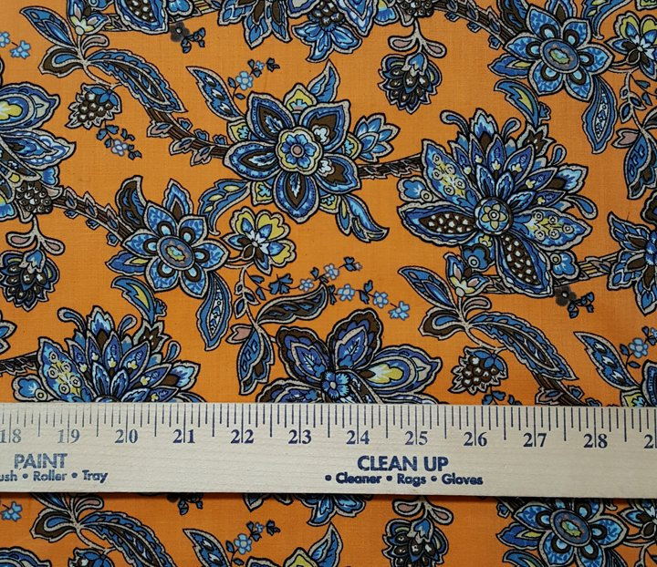 French Floral Cotton Voile #610