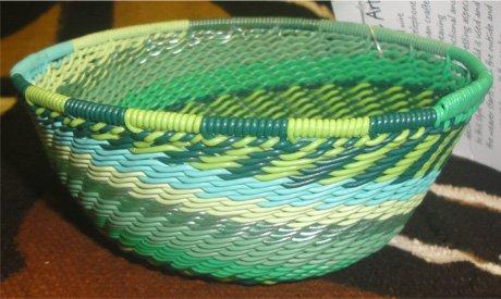 4 Telephone Wire Basket #036