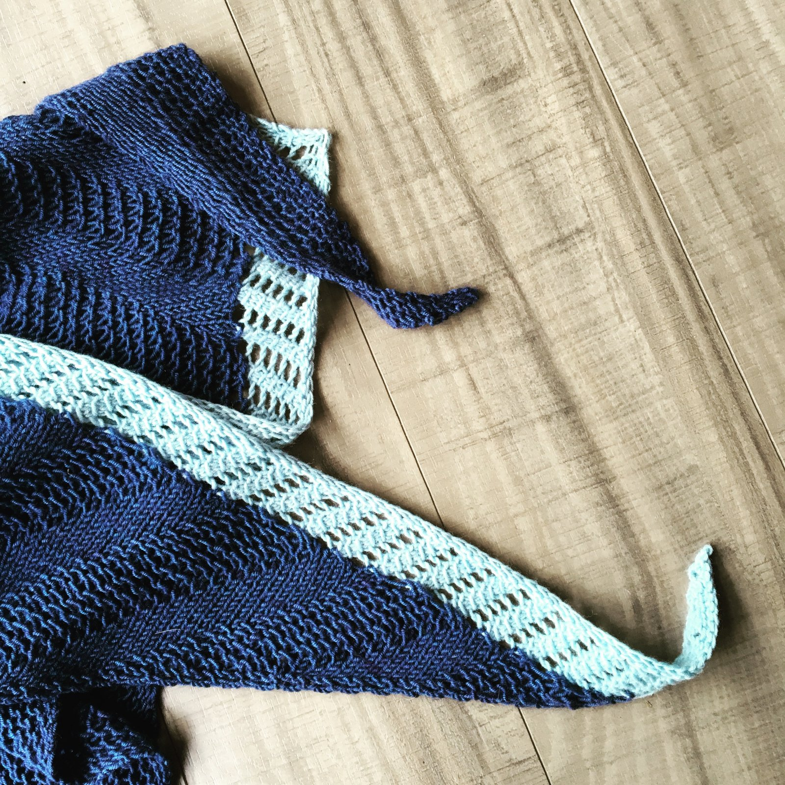 the mighty columbia limited edition shawl kit