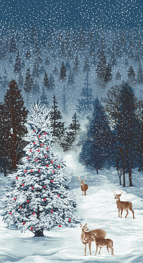 RJR Merry, Berry, & Bright - Frosted Forest - December