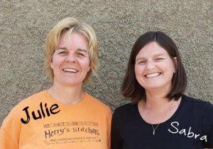 Julie & Sabra