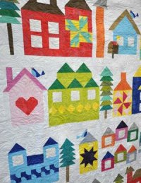 Be My Neighbor quilt