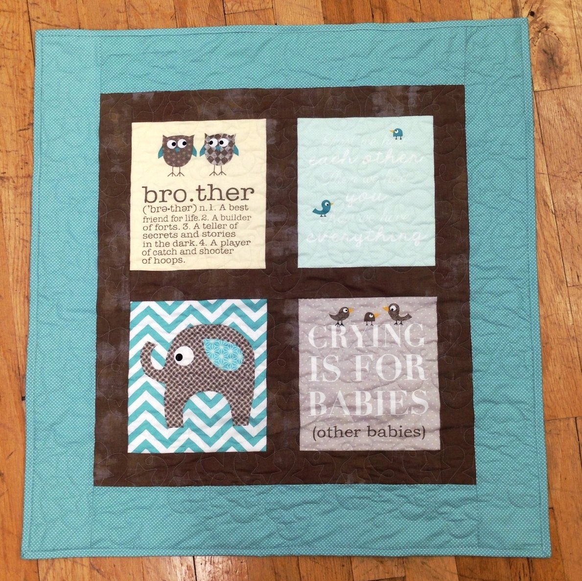 Brother Quilt Kit