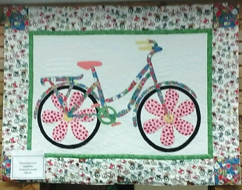 Changing Gears Quilt Kit 46 X 35, Pattern Included