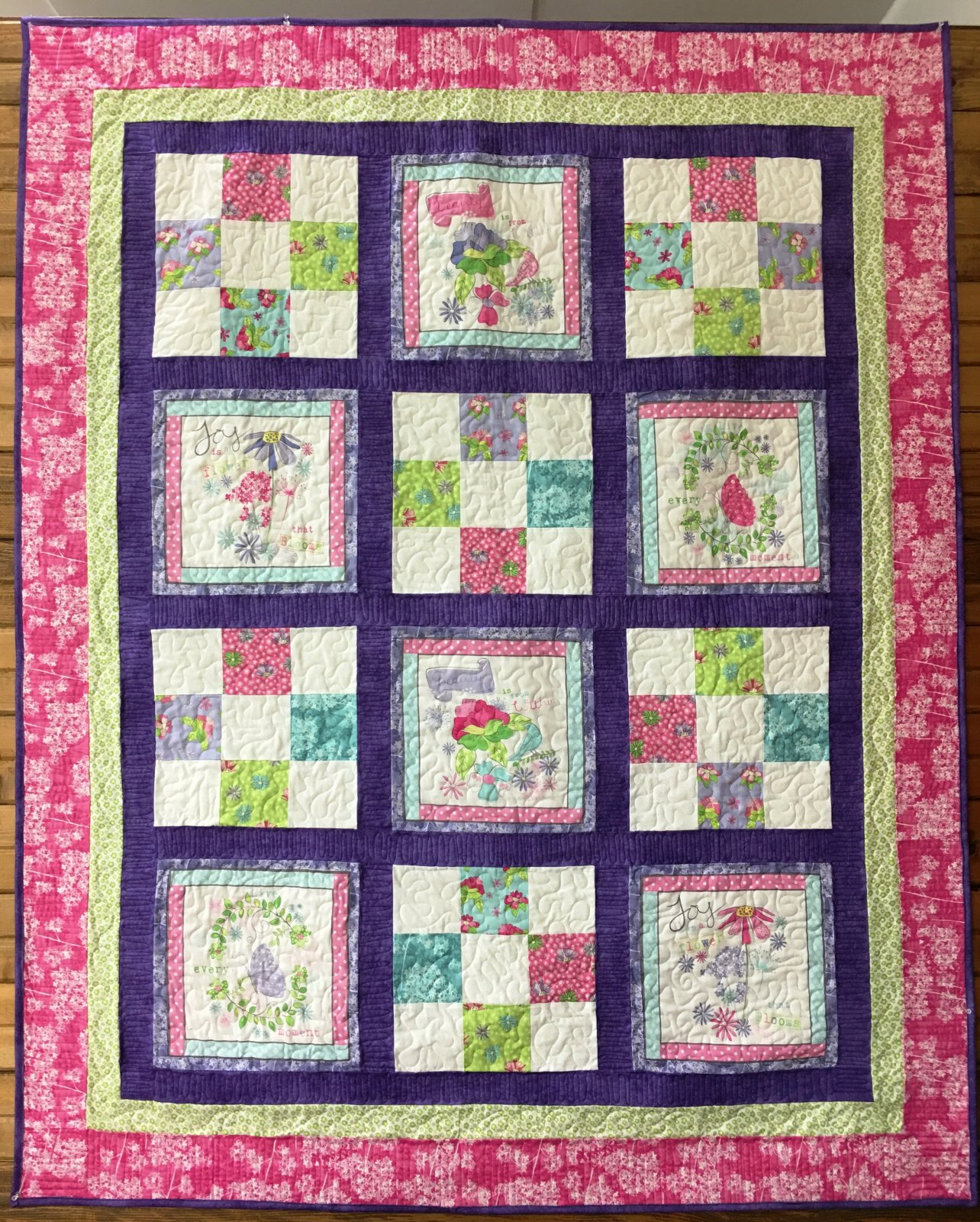 Pretty lil 39 thing quilt kit - Quilt rits ...