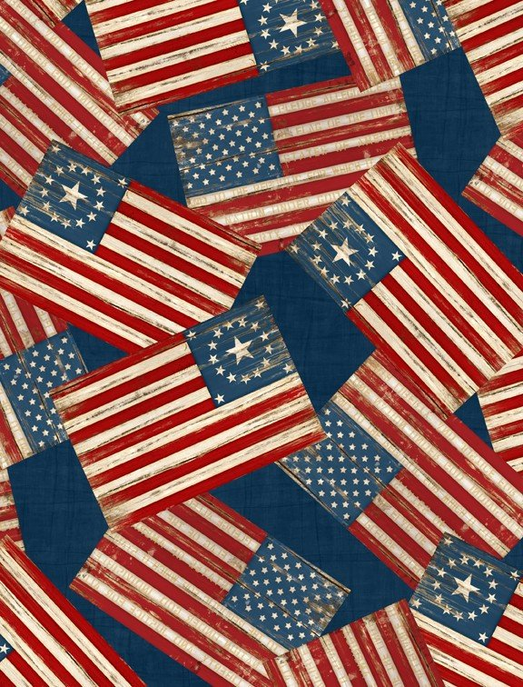 colors of freedom yardage fabric by jennifer pugh for wilmington prints 82465 434. Black Bedroom Furniture Sets. Home Design Ideas