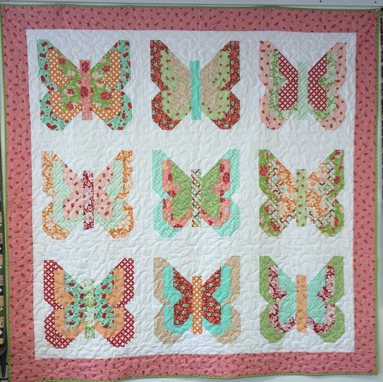 Social butterfly quilt kit - Quilt rits ...