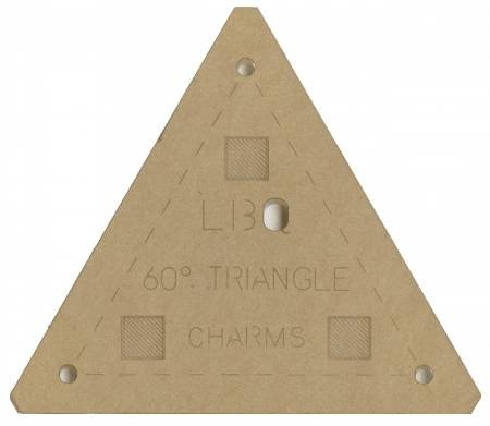 60 degree triangle charms template 859723003474
