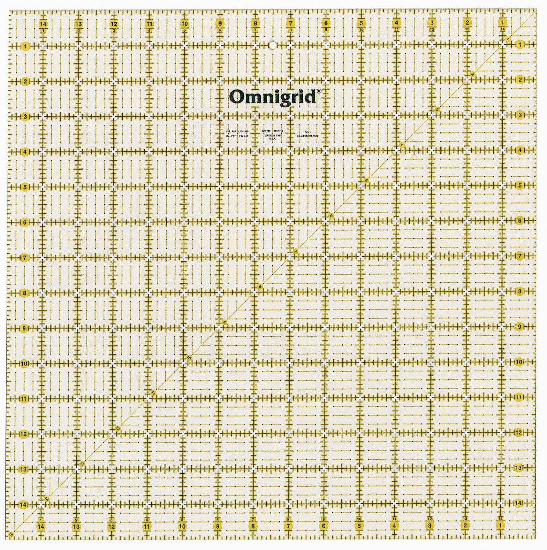 Omnigrid Ruler- 15x15 - 762511100159