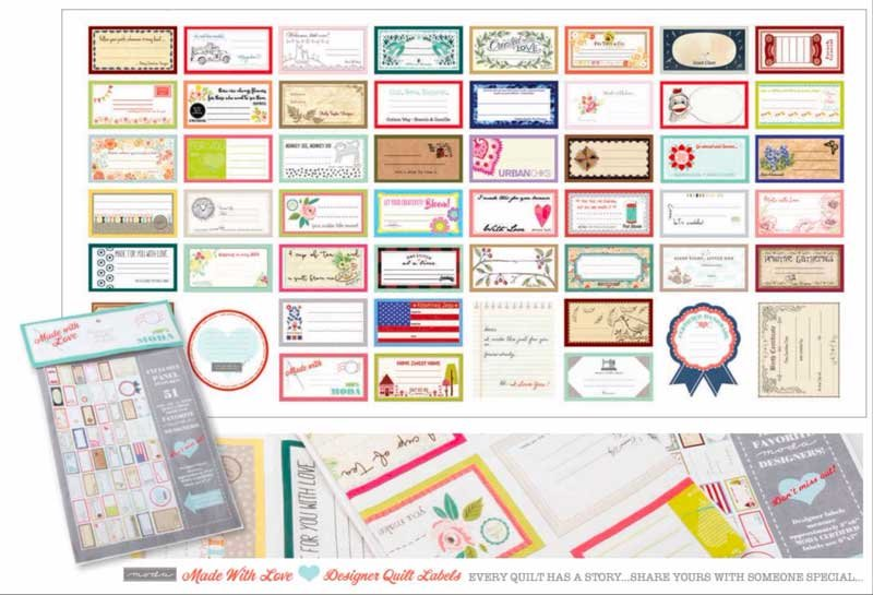Moda Designer Labels 60 x 30