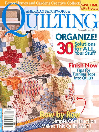 Magazine Better Homes And Gardens American Patchwork Quilting Magazine Issue 108 February 2011